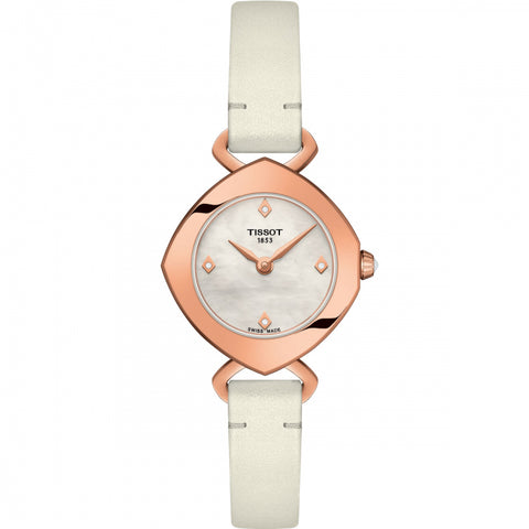Tissot Femini-T Mother of Pearl Dial 22.58 mm Ladies Watch T113.109.36.116.00