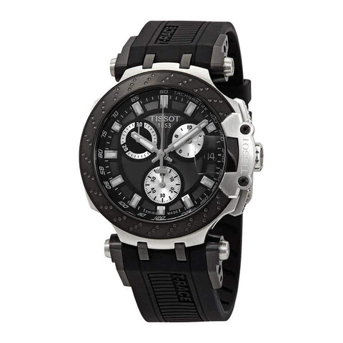 Tissot T-Race Chronograph Quartz Black Dial 47.6 mm Men's Watch T115.417.27.061.00 [Pre-order]