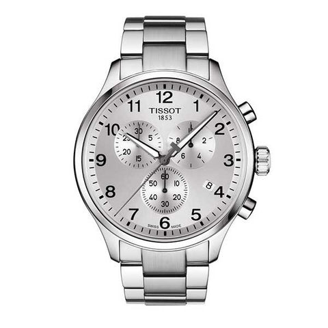 Tissot Chrono XL Classic Silver Dial 45 mm Men's Watch T116.617.11.037.00 [Pre-order]