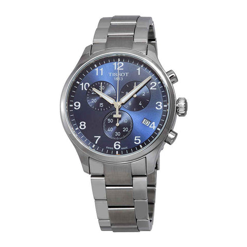 Tissot Chrono XL Classic Blue Dial 45 mm Men's Watch T116.617.11.047.01 [Pre-order]