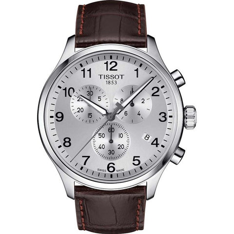 Tissot Chrono XL Classic Chronograph Silver Dial 45 mm Men's Watch T116.617.16.037.00 [Pre-order]