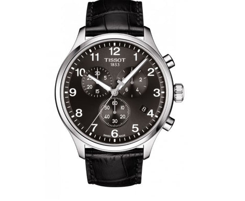 Tissot Chrono XL Classic Chronograph Black Dial 45 mm Men's Watch T116.617.16.057.00 [Pre-order]
