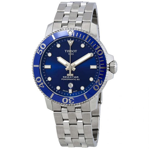Tissot Seastar 1000 Automatic Blue Dial 43 mm Men's Watch T120.407.11.041.00 [Pre-order]