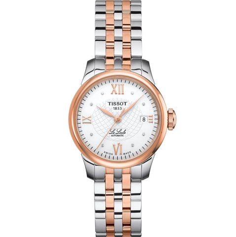 Tissot Le Locle Automatic Silver Dial 25.3 mm Ladies Watch T41.2.183.33 [Pre-order]