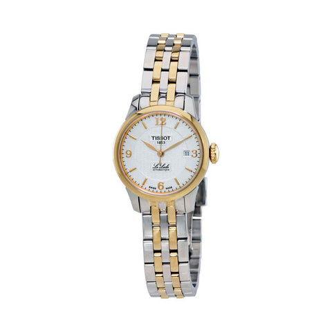 Tissot Le Locle Automatic Silver Dial Two-tone 25.3 mm Ladies Watch T41.2.183.34