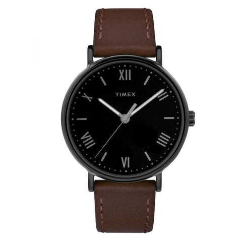 Timex Men's Southview 41mm Leather Strap Watch TW2R80300 | Watchspree