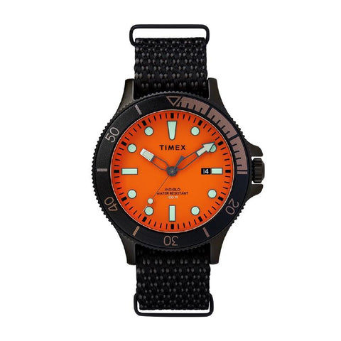 Timex Men's Allied Coastline 43mm Fabric Strap Watch TW2T30200