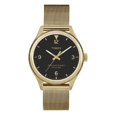 Timex Ladies' Waterbury Traditional 34mm Stainless Steel Mesh Band Watch TW2T36400