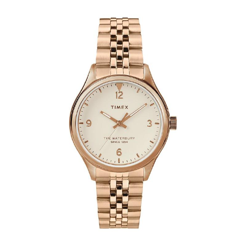 Timex Ladies' Waterbury Traditional 34mm Stainless Steel Mesh band Watch TW2T36500