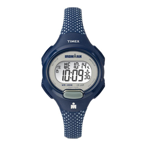Timex Ladies' Ironman Essential 10 Mid-Size Resin Strap Watch TW5M16700