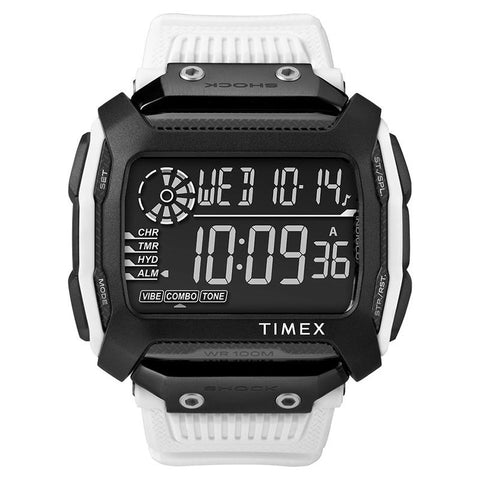 Timex Men's Command Shock 54mm Resin Strap Watch TW5M18400