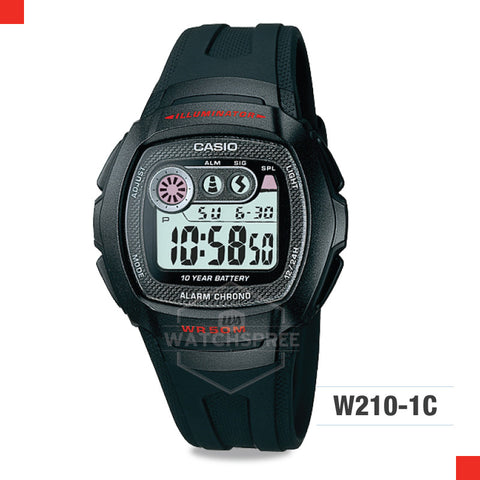 Casio Sports Watch W210-1C