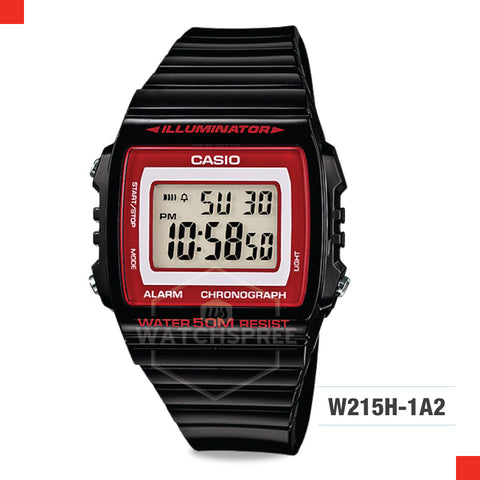Casio Watch W215H-1A2