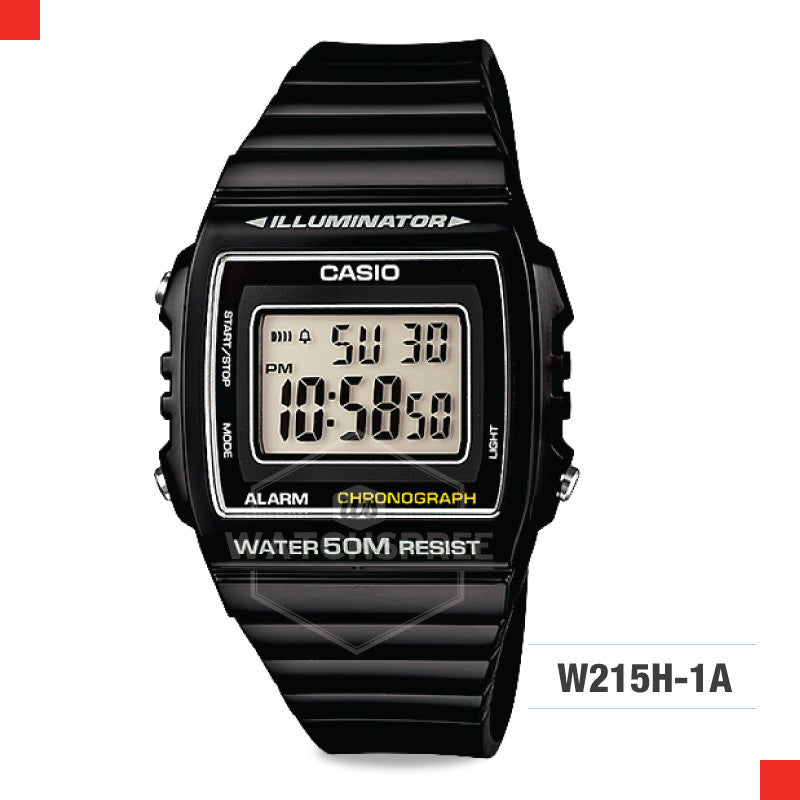 Casio Watch W215H-1A