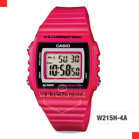 Casio Watch W215H-4A