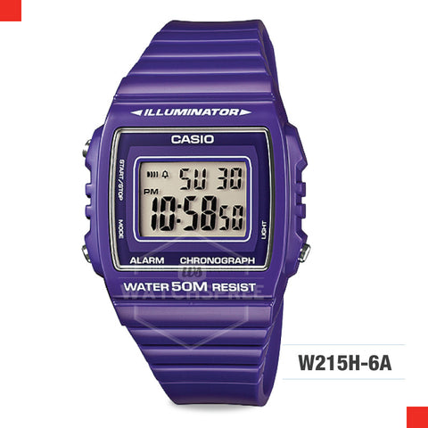 Casio Watch W215H-6A