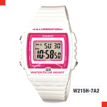Load image into Gallery viewer, Casio Watch W215H-7A2