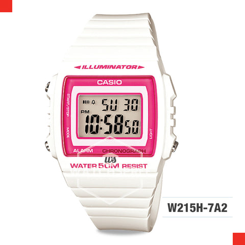 Casio Watch W215H-7A2
