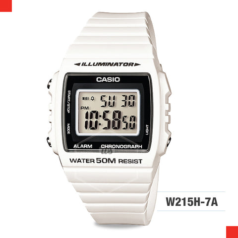 Casio Watch W215H-7A