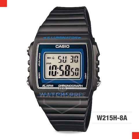 Casio Watch W215H-8A