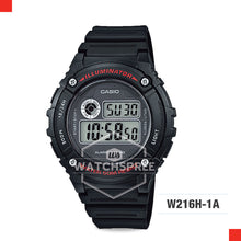 Load image into Gallery viewer, Casio Sports Watch W216H-1A
