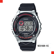 Load image into Gallery viewer, Casio Sports Watch W216H-1C