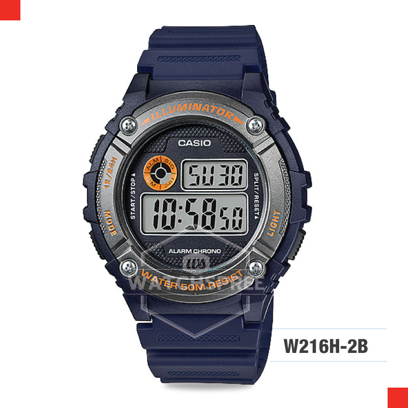 Casio Sports Watch W216H-2B