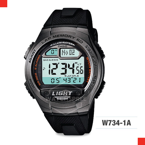 Casio Sports Watch W734-1A