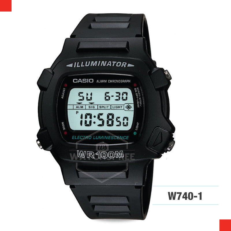 Casio Sports Watch W740-1V