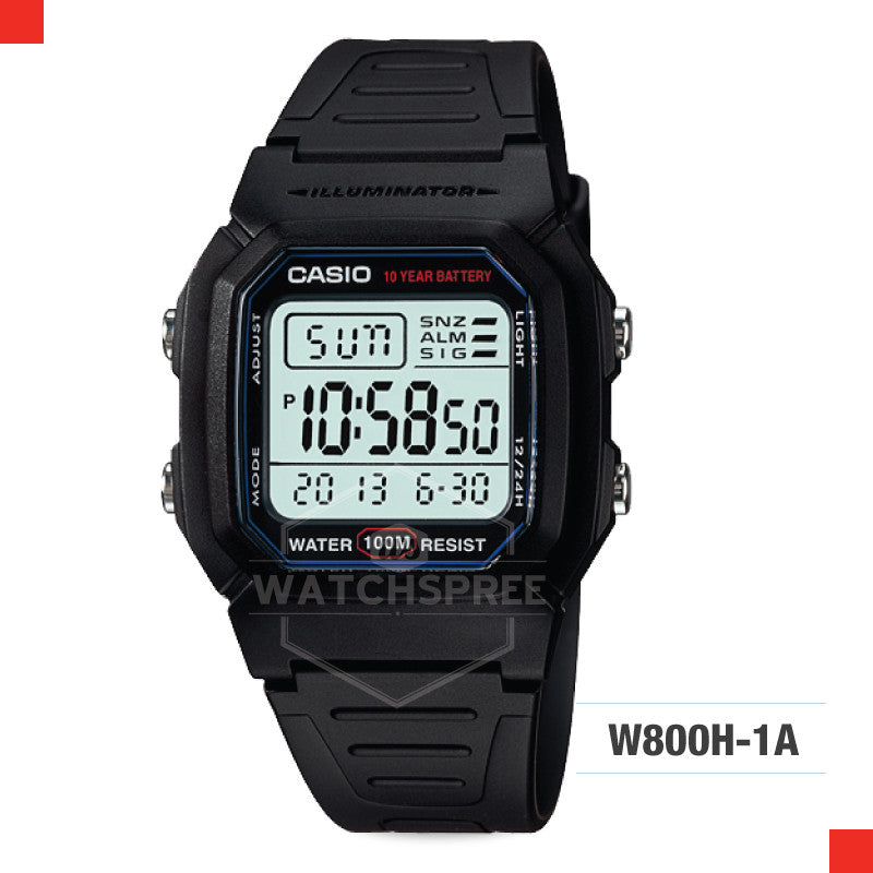 Casio Sports Watch W800H-1A