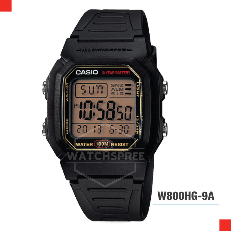 Casio Sports Watch W800HG-9A