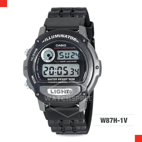 Casio Sports Watch W87H-1V