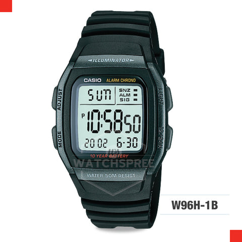 Casio Sports Watch W96H-1B