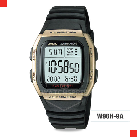 Casio Sports Watch W96H-9A