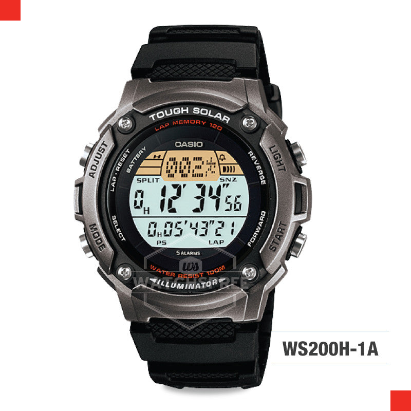 Casio Sports Watch WS200H-1A