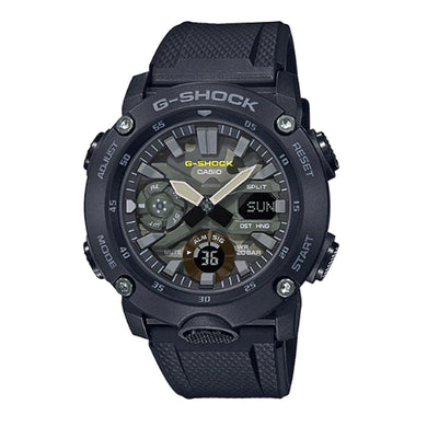 Casio G-Shock Carbon Core Guard Structure Black Resin Band Watch GA2000SU-1A GA-2000SU-1A