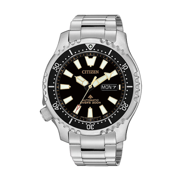 Citizen Limited Edition Promaster Automatic Diver Stainless Steel Band Watch NY0090-86E | Watchspree