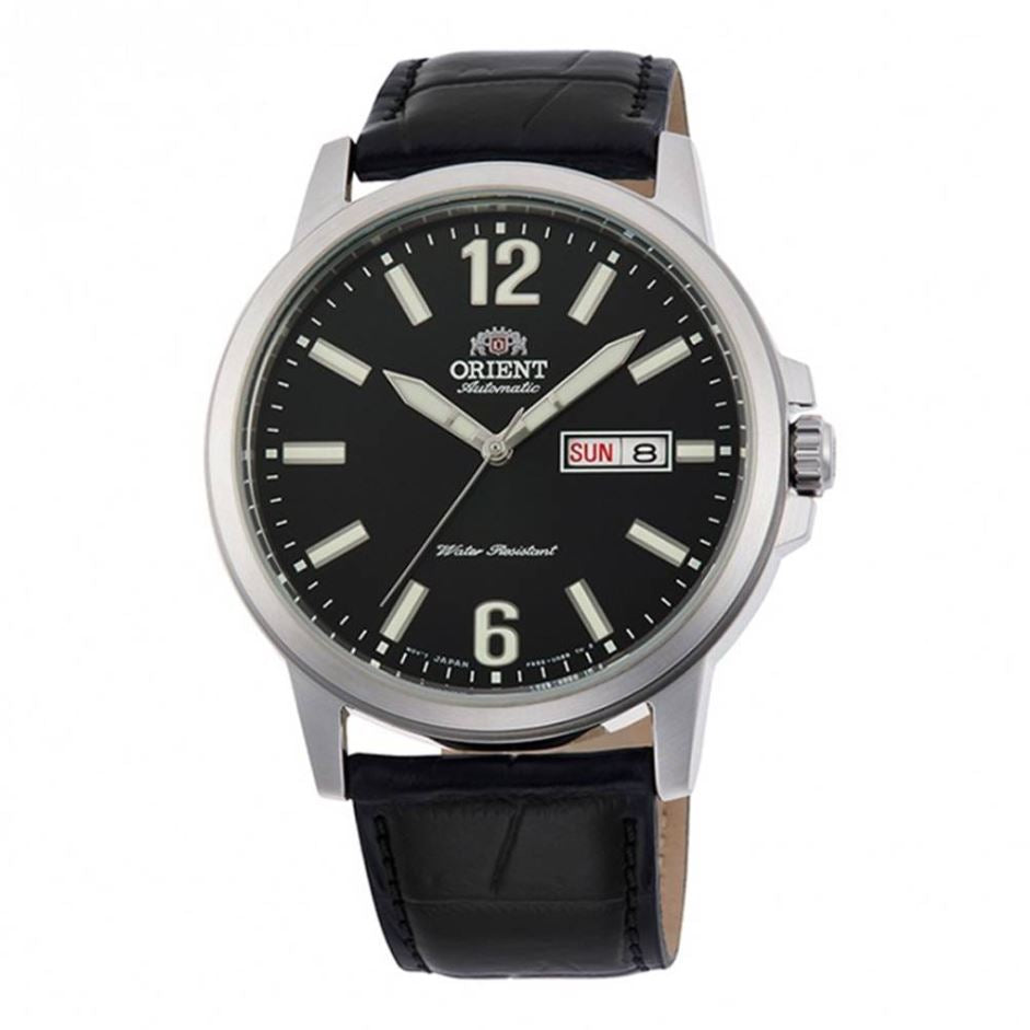 Orient Men's Automatic Black Leather Strap Watch RA-AA0C04B19B  | Watchspree