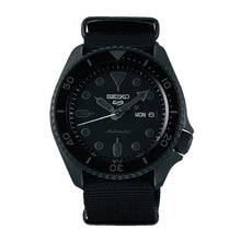 Load image into Gallery viewer, Seiko 5 Sports Automatic Black Nylon Strap Watch SRPD79K1