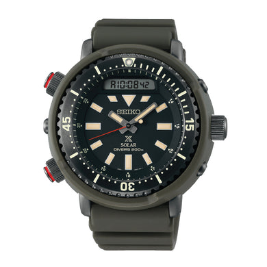Seiko Prospex Solar Diver's Grey Silicone Strap Watch SNJ031P1 (LOCAL BUYERS ONLY)