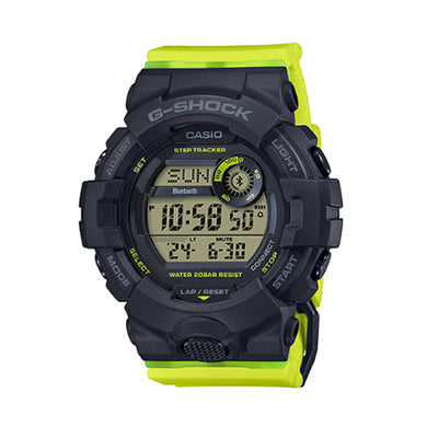 Casio G-Shock G-Squad for Ladies' GBA-800 Lineup Yellow Resin Band Watch GMDB800SC-1B GMD-B800SC-1B