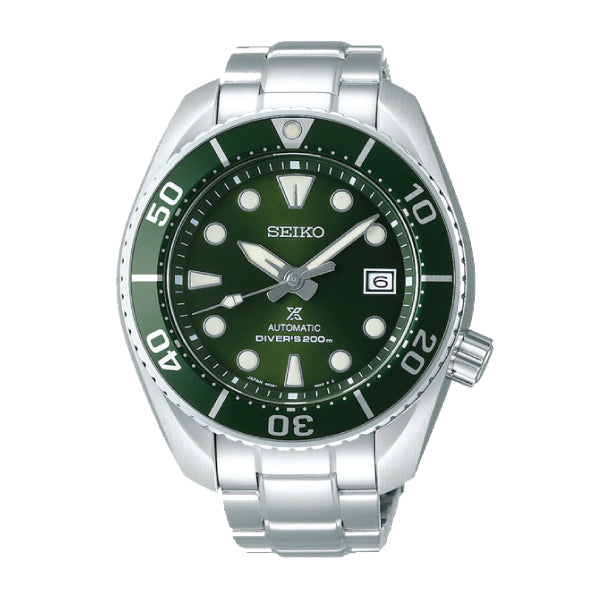 [JDM] Seiko Prospex (Japan Made) Diver Scuba Automatic Silver Stainless Steel Band Watch SBDC081 SBDC081J