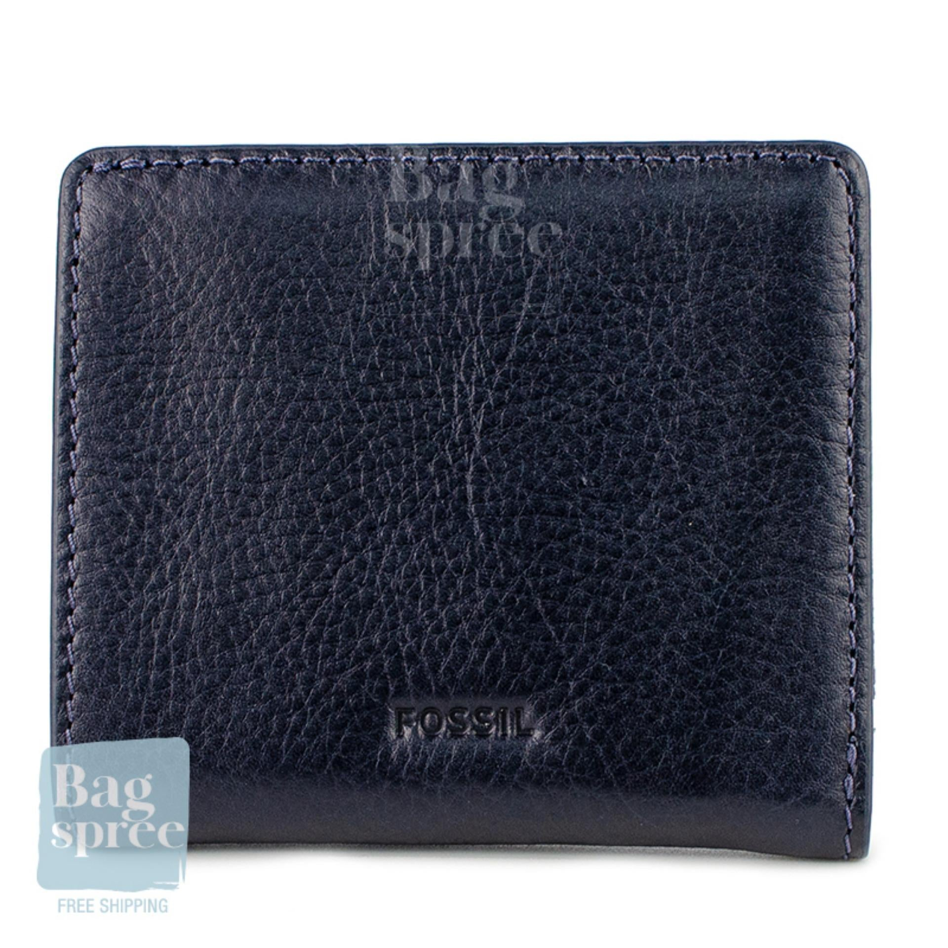 Fossil Emma RFID Mini Wallet Blue SL7150406
