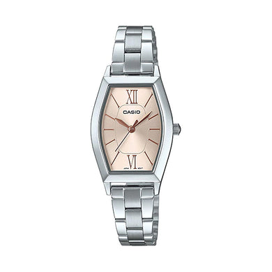 Casio Ladies' Analog Stainless Steel Band Watch LTPE167D-9A LTP-E167D-9A
