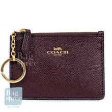 Load image into Gallery viewer, Coach Mini Skinny ID Case Red F12186 IML7C