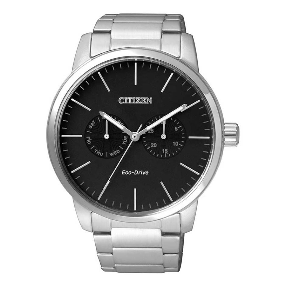 Citizen Men's Eco-Drive Stainless Steel Watch AO9040-52E