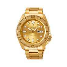 Load image into Gallery viewer, Seiko 5 Sports Automatic Gold Stainless Steel Band Watch SRPE74K1 | Watchspree