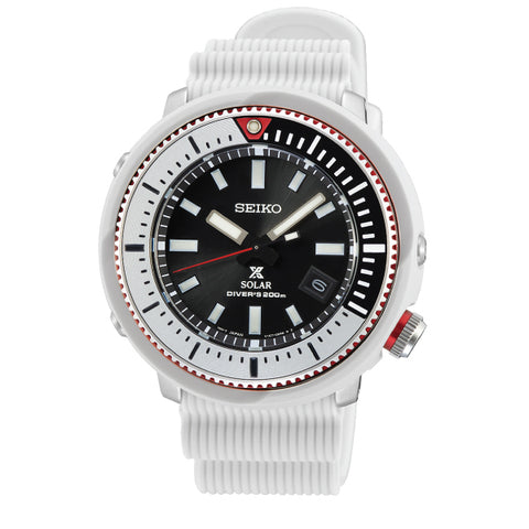 Seiko Prospex Solar Diver's Dirty White Silicone Strap Watch SNE545P1 (LOCAL BUYERS ONLY)