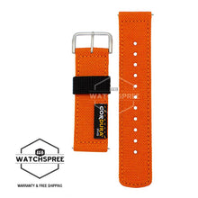 Load image into Gallery viewer, Casio G-Shock GA-2000 Series Replaceable Orange Cordura Cloth Band BANDGS01BC-4D BANDGS01BC-4