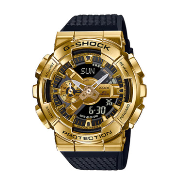 Casio G-Shock GM-110 Lineup Black Resin Band Watch GM110G-1A9 GM-110G-1A9